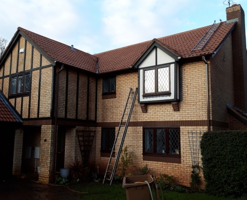chimney repaired in Solihull